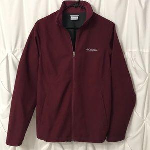 Columbia full zip, Dri Fit, Lined Jacket